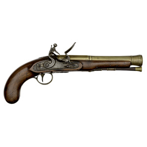 Brass Barrel Blunderbuss Pistol By Warren & Steele Albany