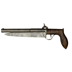 Percussion Knife Pistol By R.W. Andrews Stafford Ct