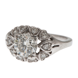 Diamond Fashion Ring in Platinum