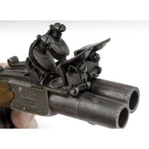 Cased Flinlock Boxlock Pistols By Wallis