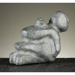 Mary Ayaq Anowtalik (Inuit, b 1938) Stone Sculpture
