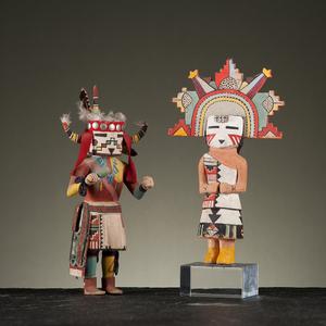Hopi Polik Mana and Supai Katsina Dolls From the Collection of John O. Behnken, Georgia