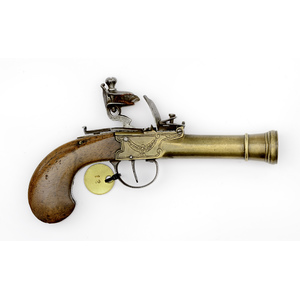 Brass Frame Blunderbuss Pistol