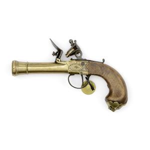 Brass Frame Flintlock  Blunderbuss Pistol