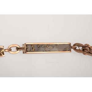 California Quartz Watch Chain and Fob Made for T.F. Walsh Ca 1885
