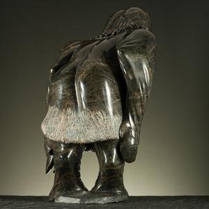 Mathew Saviadjuk (Inuit, b. 1950) Stone Sculpture