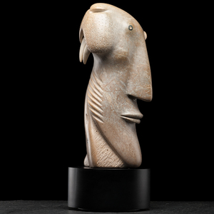 David Ruben Piqtoukun (Inuit, b. 1950) Stone Sculpture
