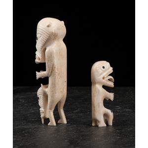 Greenland Eskimo Walrus Ivory Tupilaks