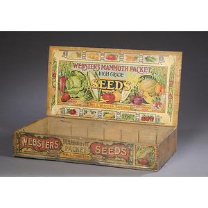 Fine Webster Seed Box,