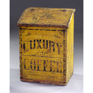 Luxury Coffee Bin in Original Paint,