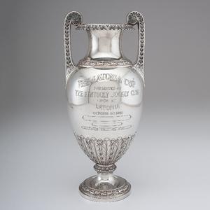 Latonia, Kentucky Sterling Silver Racing Trophy