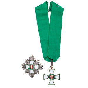 Order of Merit of the Kingdom of Hungary, Grand Commander with Box