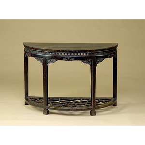 D-Shaped Chinese Table,