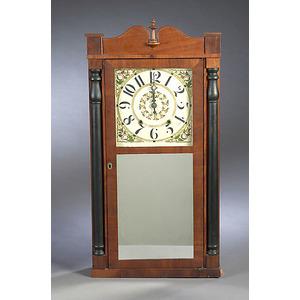 Luman Watson, Cincinnati, Ohio Shelf Clock,