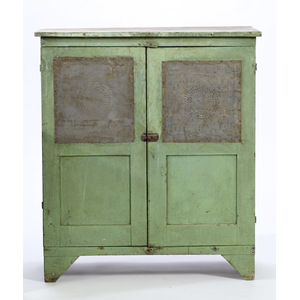 Pie Safe in Green Paint,