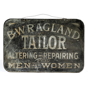 Tailor's Trade Sign,