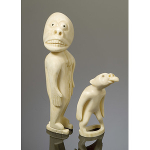 Two Tupilak Figures,