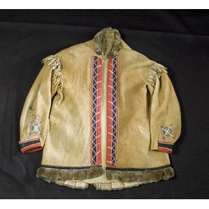 Cree/ Athapaskan Beaded Hide Coat,