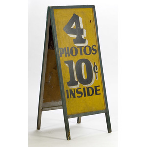 Photographer's Trade Sign,