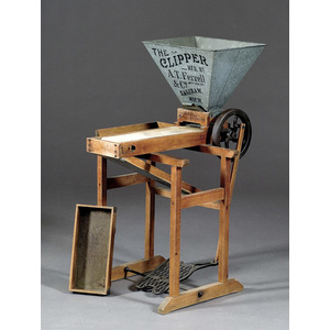 The Clipper Seed and Grain Cleaner,
