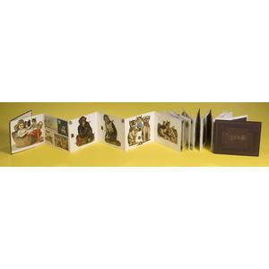 Wonderful Accordion Fold Album of Die Cuts,