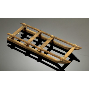 Models of Traditional Arctic Sleds,