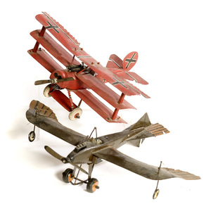 Two WWI Model Planes,