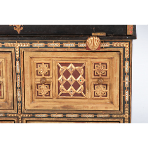 Spanish Vargueno Chest on Chest