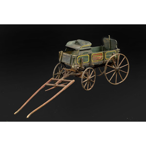 Birdsell Goat Wagon in Original Paint,