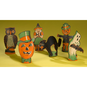 Halloween Polychrome Printed Table Decorations,