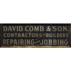 Builder's Trade Sign,