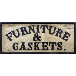 Furniture Maker's Trade Sign,