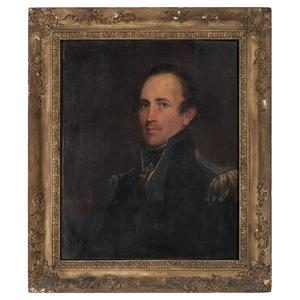 Matthew Harris Jouett (American, 1788-1827), Portrait of Colonel William Allen Trimble