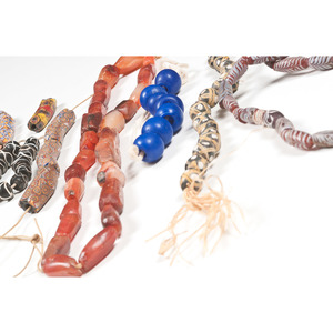 An Assortment of Vibrant Trade Beads, From a New York Collector