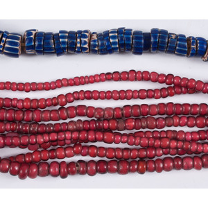 A Variety of Colorful Trade Beads, From A New York Collector