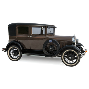 1929 Ford Model A Leatherback Fordor