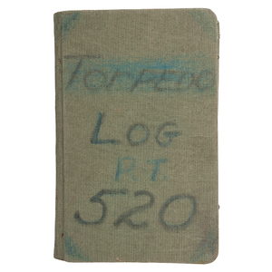 Historic Operation Overlord World War II P.T. Boat 520 Flag, Log Book and Photographs