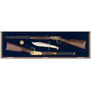 *Cased Set of Texas Sesquicentennial Winchester Model 94's (1 of 150)
