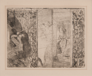 Edgar Degas (French, 1834-1917) Etching