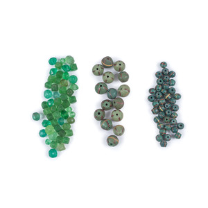 Colorful Assortment of Trade Beads, From a New York Collector