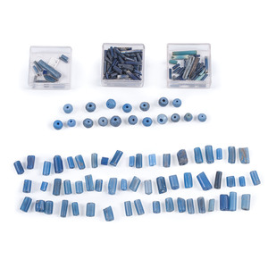 Collection of Blue Trade Beads, From a New York Collector