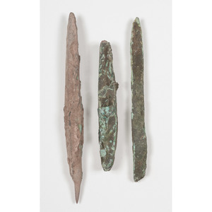 Old Copper Culture Mandrels, From the Collection of Roger