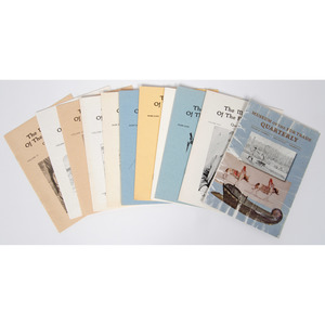 [Periodical] Assorted Volumes of The Museum of the Fur Trade Quarterly