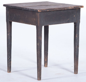 Primitive Painted Work Table