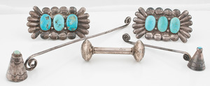 Navajo Silver and Turquoise Items