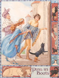 Margaret Winifred Tarrant (English, 1888-1959) Watercolor Illustration