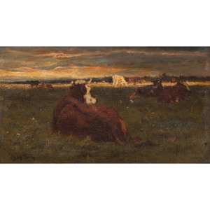 Emile Van Marcke de Lummen (Belgian, 1827-1890)