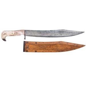 Seth Kinman Bowie Knife