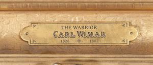 Carl Ferdinand Wimar, The Warrior