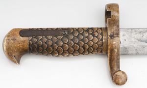 **Winchester Model 1892 Musket w/Brass Handled Saber Bayonet